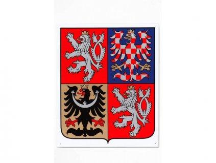 Státní znak ČR plast