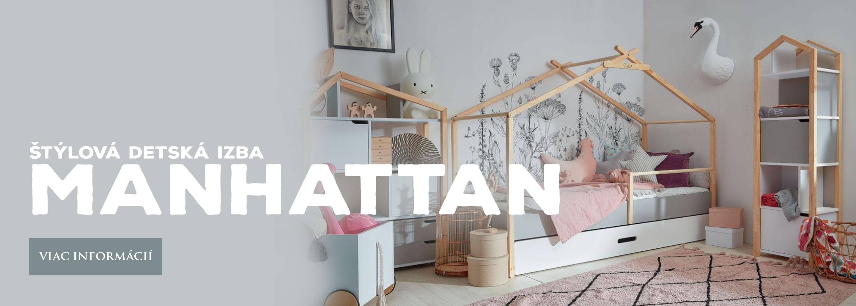 MANHATTAN - Detská izba