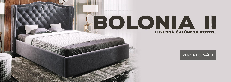 Luxusná posteľ BOLONIA II