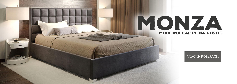 Manželská čalúnená posteľ EVORA