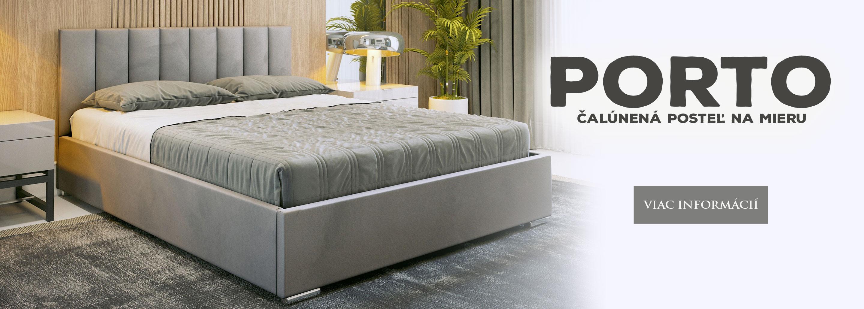 Manželská posteľ PORTO na mieru