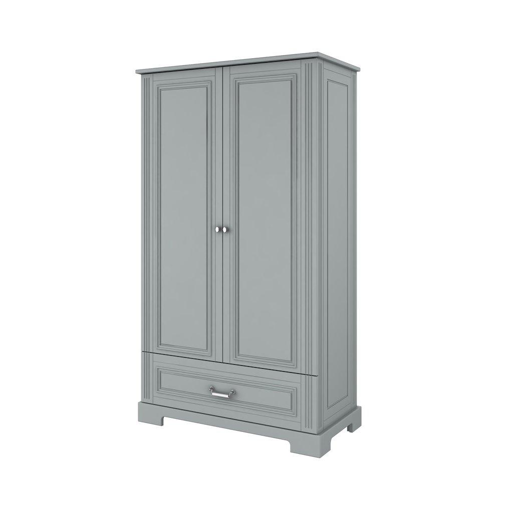 Ines grey wardrobe