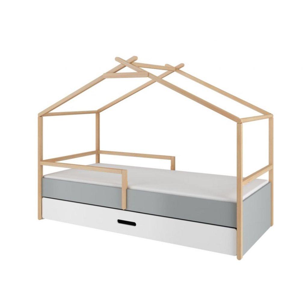 PROXIMA.store detska postel TEEPEE 90x200 domcek bellamy 2