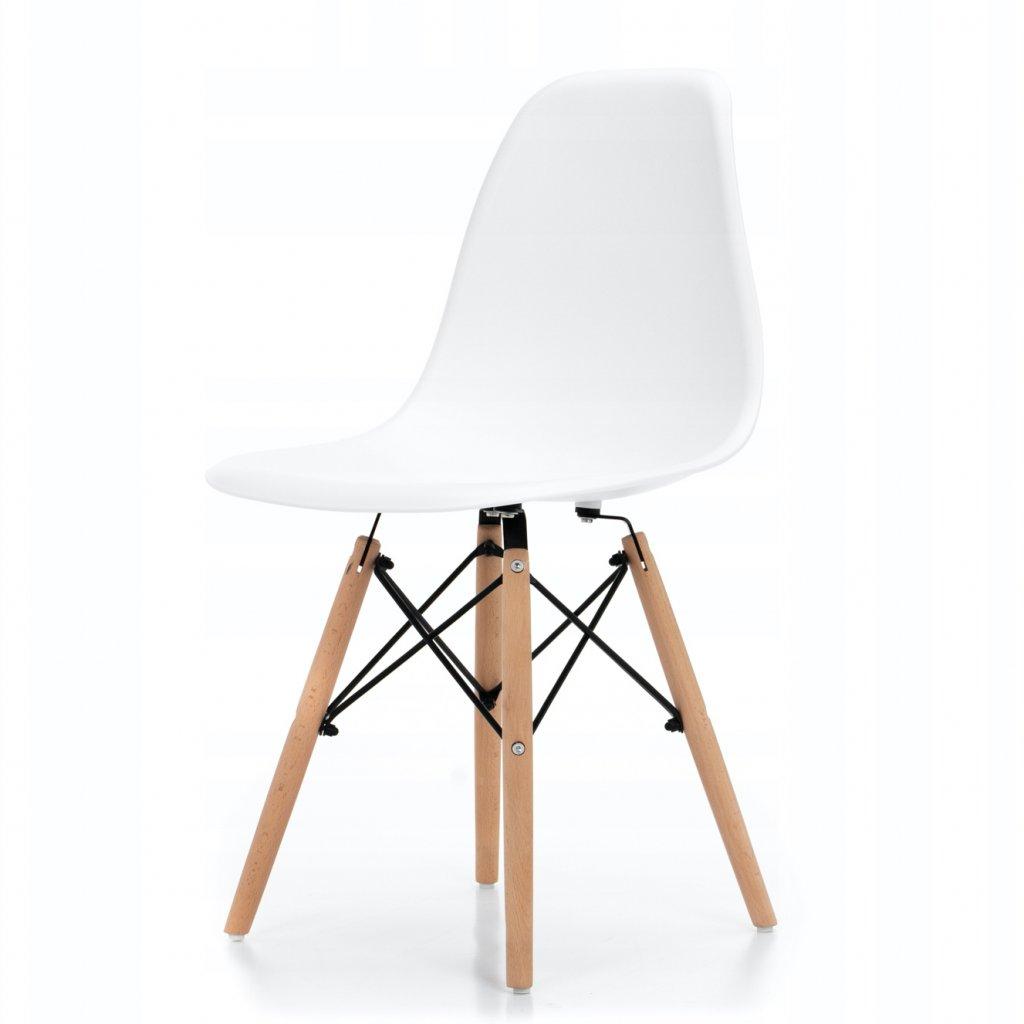 PROXIMA.store Jedálenská stolička ENZO biela 5