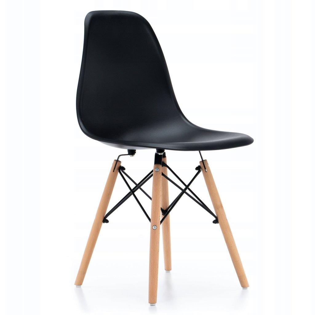 PROXIMA.store Jedálenská stolička ENZO čierna 8