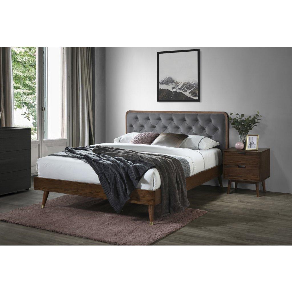 PROXIMA.store masivna postel cassidy 160x200 1