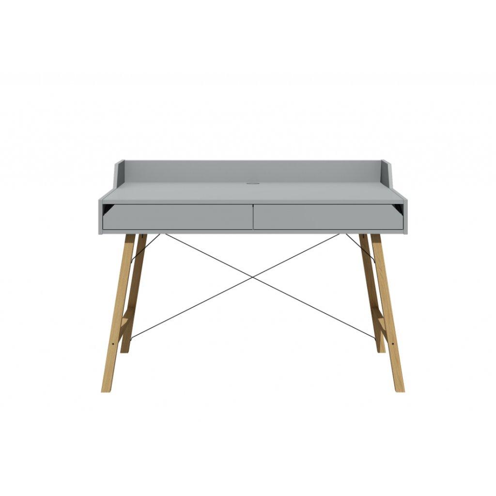 PROXIMA.store detský pracovný stôl sivá 3