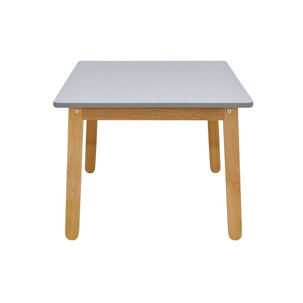 PROXIMA.store detsky stolik woody sivá 2