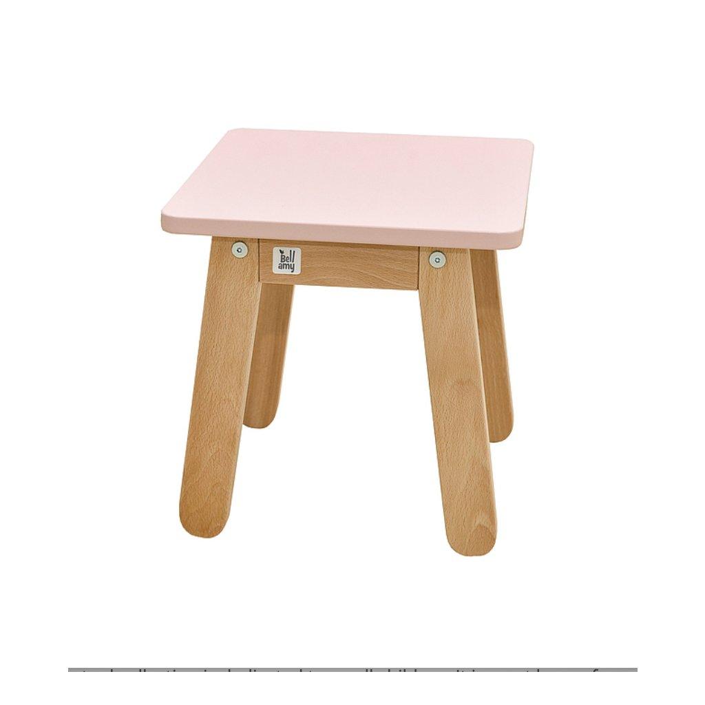 PROXIMA.store detská stolička woody ružová 2