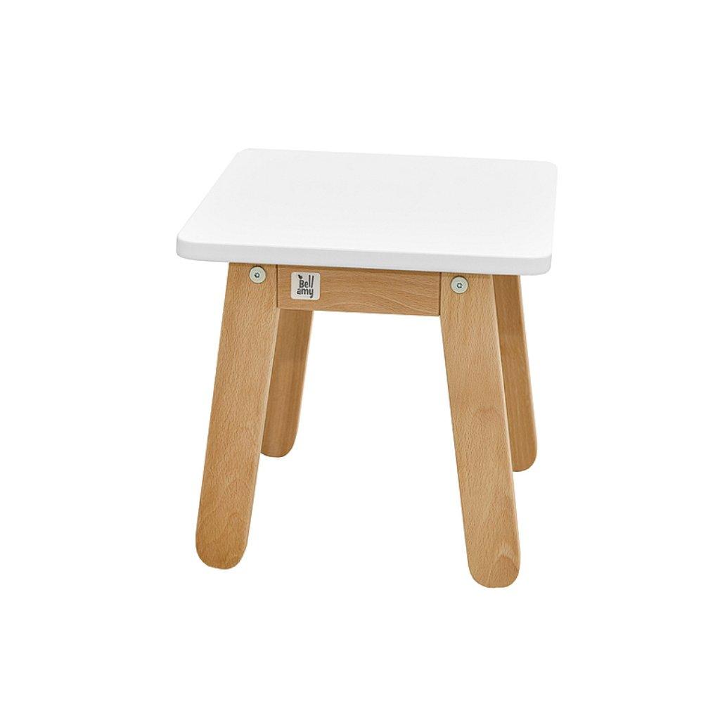 PROXIMA.store detská stolička woody krémová biela 1