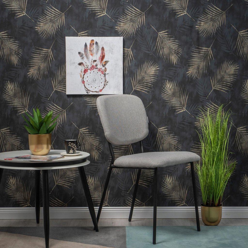 PROXIMA.store stolička VINTAGE siva 2