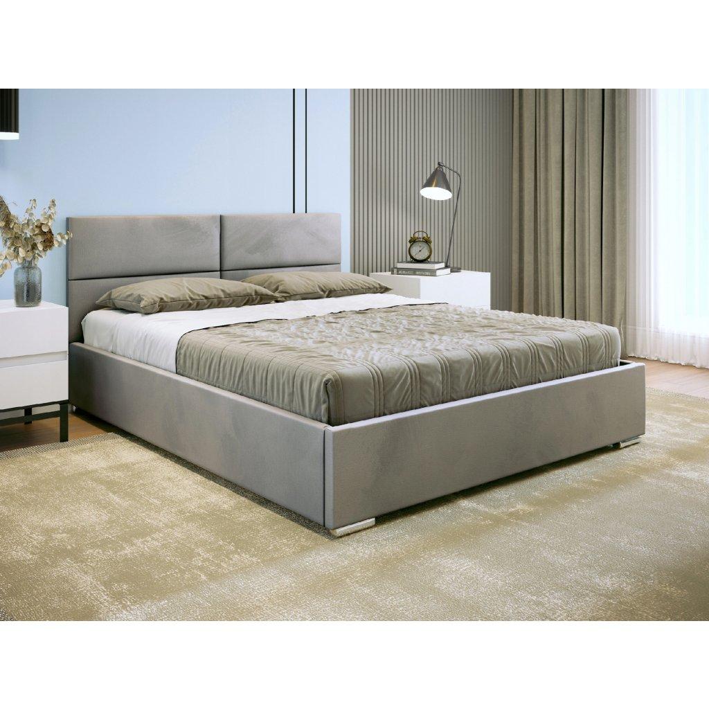 PROXIMA.store dizajnova calunena postel s uloznym priestorom na mieru SINTRA 4