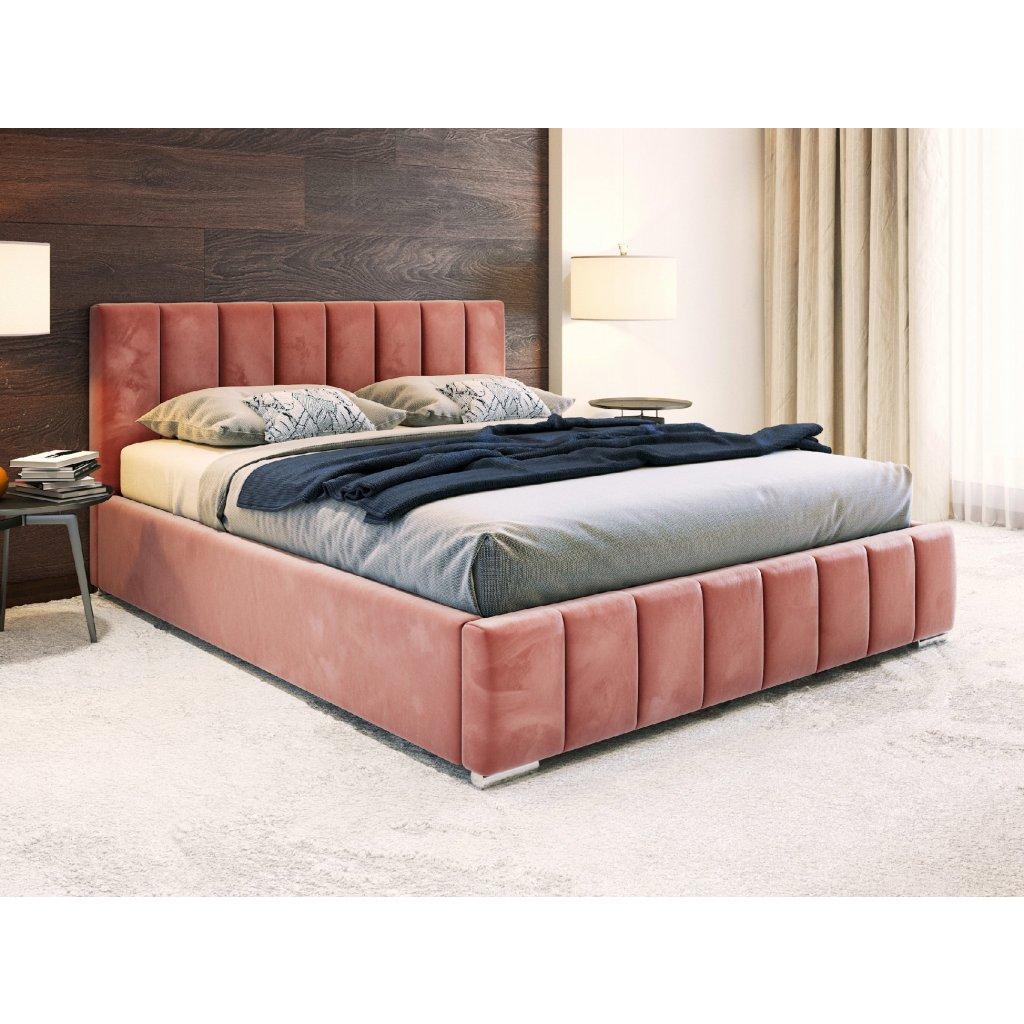 PROXIMA.store calunena postel na mieru ALICANTE ruzova 7