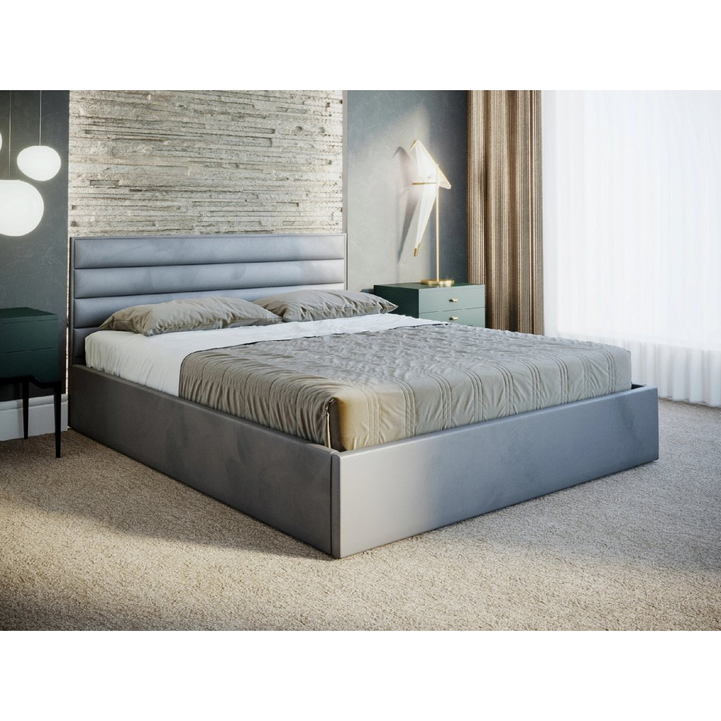 PROXIMA.store luxusna manzelska postel HORIZON II na mieru 4