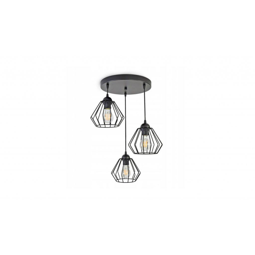 PROXIMA.store zavesne stropne svietidlo diamant loft kruh 3 1