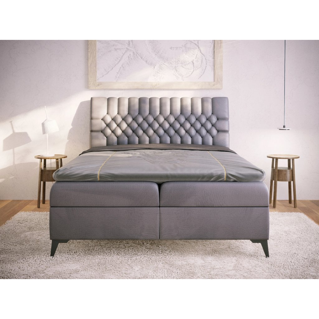 PROXIMA.store kontinetalna boxspringova postel VILLAR na mieru 1