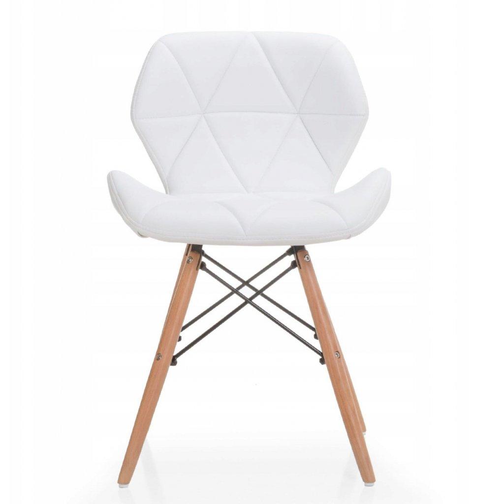 PROXIMA.store Jedálenská stolička Duro Biela 1