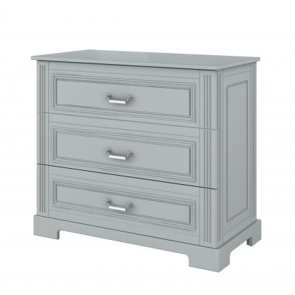 Ines grey chest of drawers
