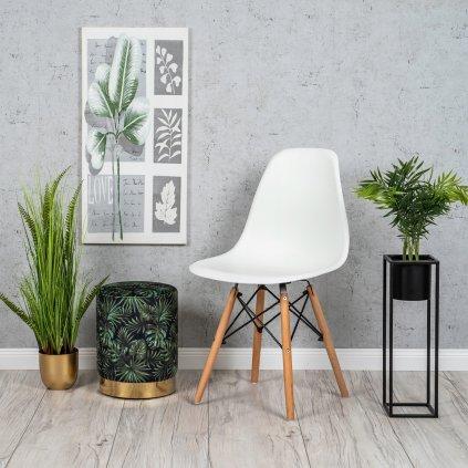 PROXIMA.store Jedálenská stolička ENZO biela 7