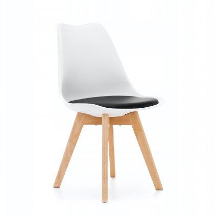 PROXIMA.store Jedálenská stolička DUBLIN biela čierna 8