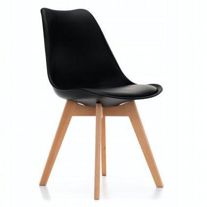 PROXIMA.store Jedálenská stolička DUBLIN čierna 8