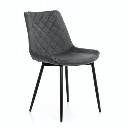 PROXIMA.store Jedálenská stolička ADEL tmavosivá 8
