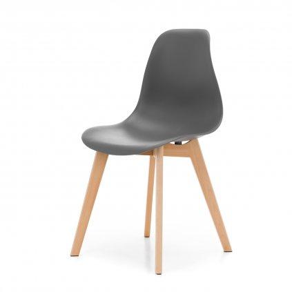 PROXIMA.store škandinávska jedálenská stolička SK17 sivá 7