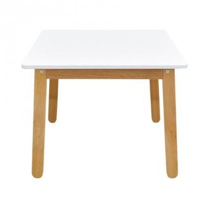 PROXIMA.store detsky stolik woody snehovo biela 2