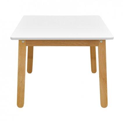 PROXIMA.store detsky stolik woody snehovo krémová biela 1