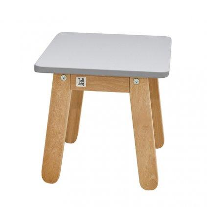 PROXIMA.store detská stolička woody sivá 4