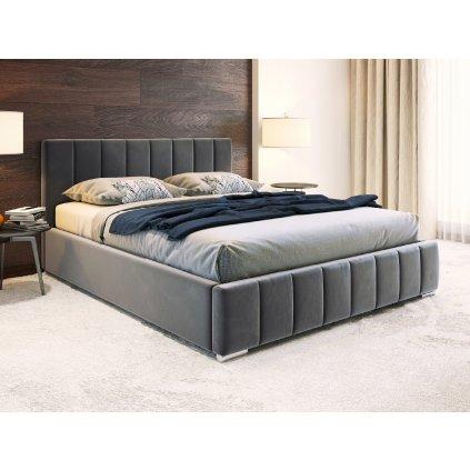 PROXIMA.store calunena postel na mieru ALICANTE velúr 4
