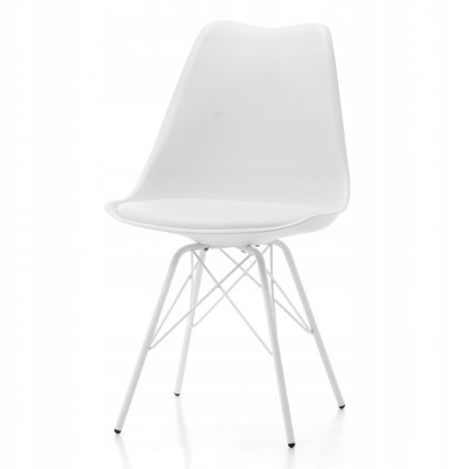 PROXIMA.store dizajnove plastove stolicky DUBLIN STYLE biele 2