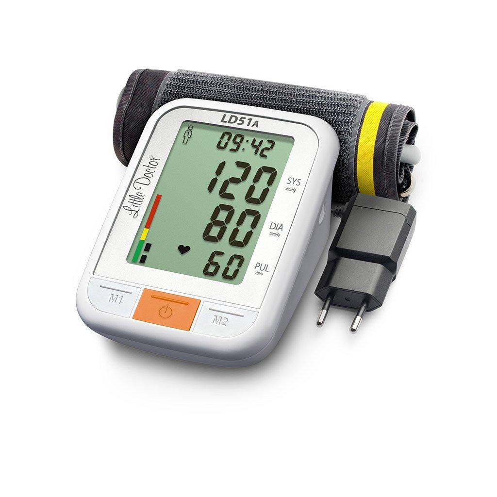 Little Doctor LD-51A digitální tlakoměr se zdrojem