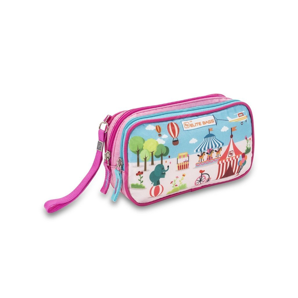 Elite Bags DIA'S dětské pouzdro na diabetickou sadu, růžové