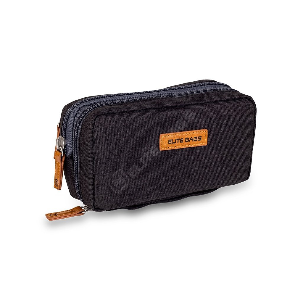 Elite Bags DIABETIC'S pouzdro na diabetickou sadu, černé