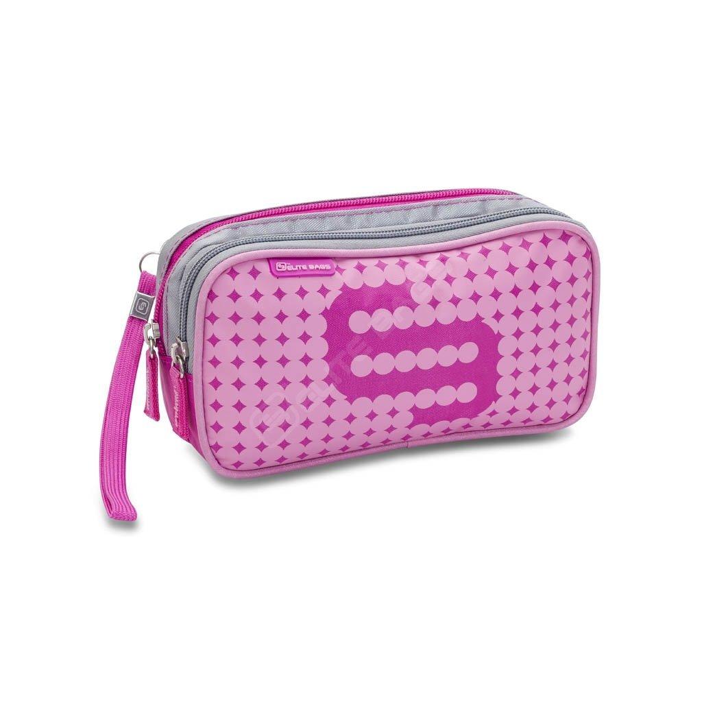 Elite Bags DIA'S pouzdro na diabetickou sadu, růžové