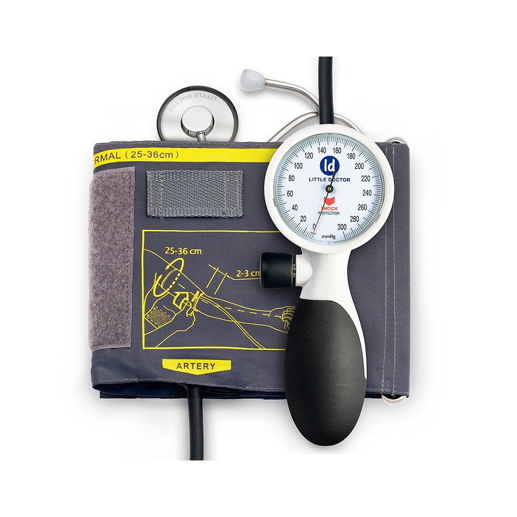 Little Doctor LD-91 tonometr s integrovaným fonendoskopem