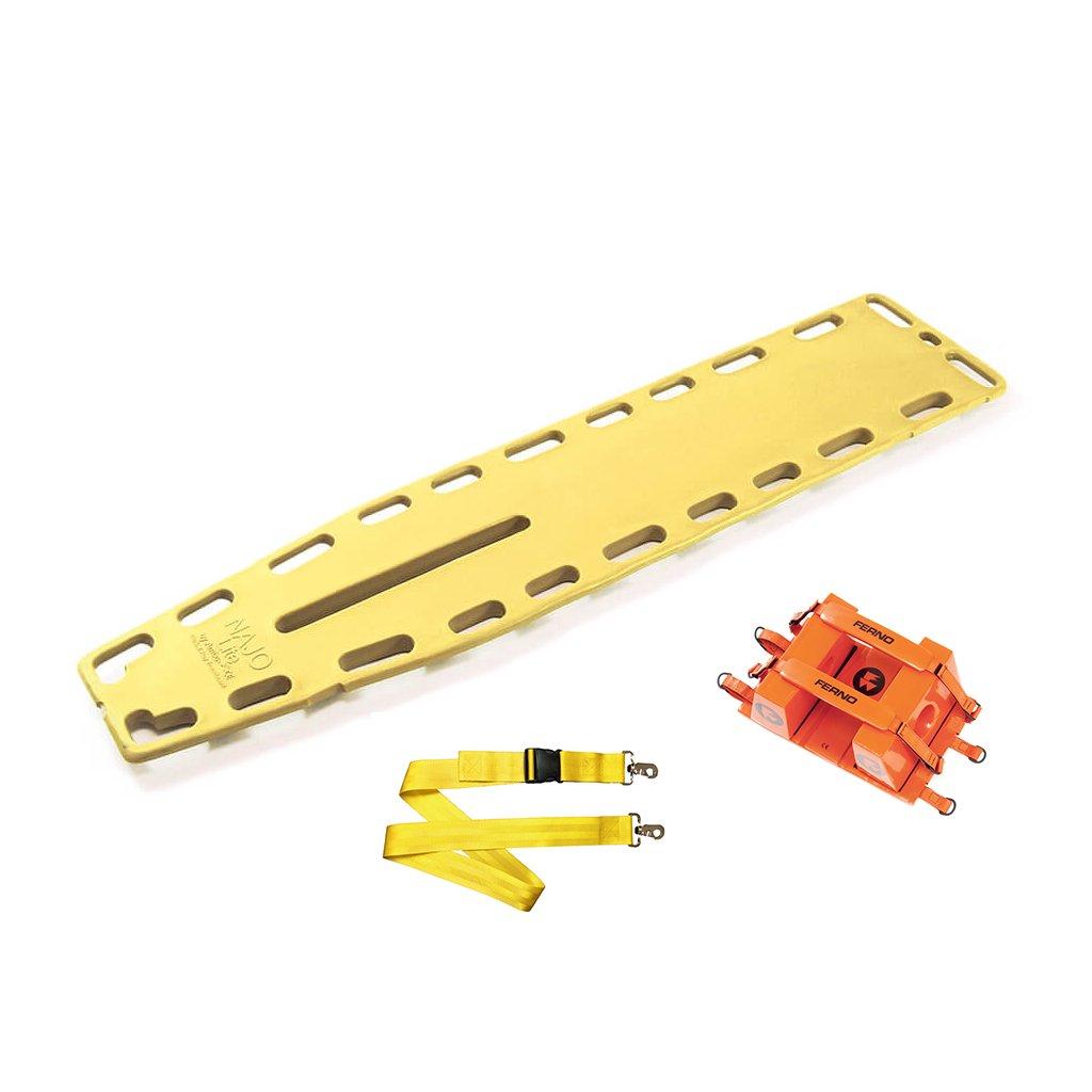 Ferno NAJO Lite Board s popruhy a imobilizátorem hlavy (použité)