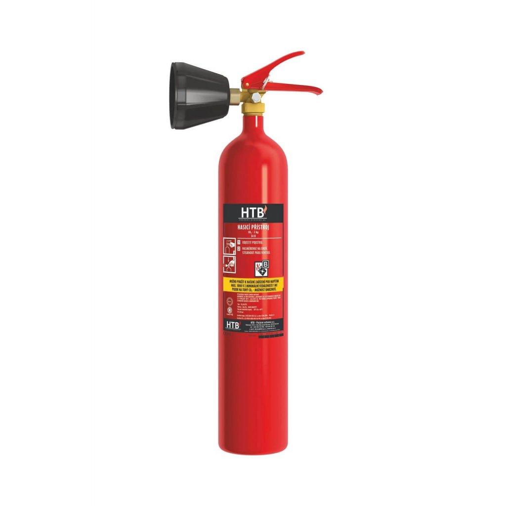 11408 hasici pristroj co2 snehovy htb 2kg 2a 34b vcetne revizni zpravy