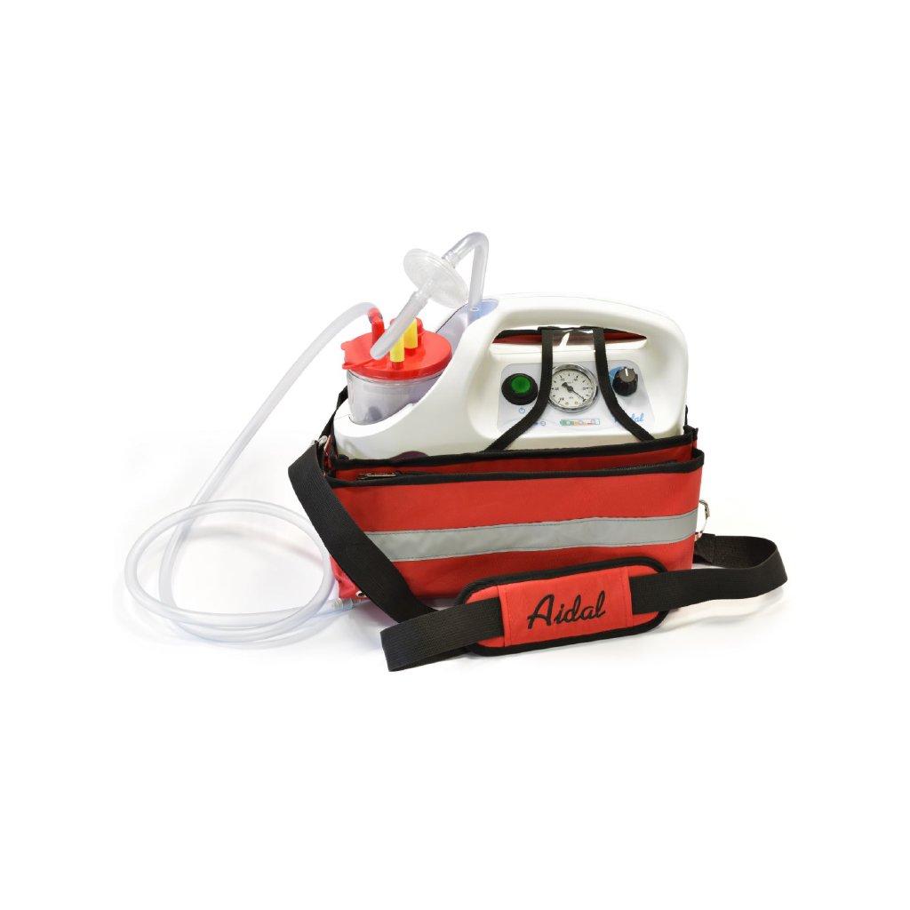 Air Liquide AIDAL Emergency bateriová odsávačka včetně držáku, 1000 ml
