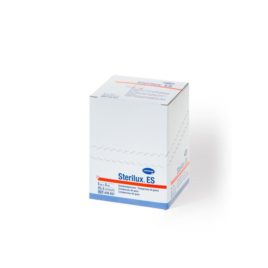 Hartmann Sterilux ES, sterilní, 5 x 5 cm, 17/8, 25 x 2 ks