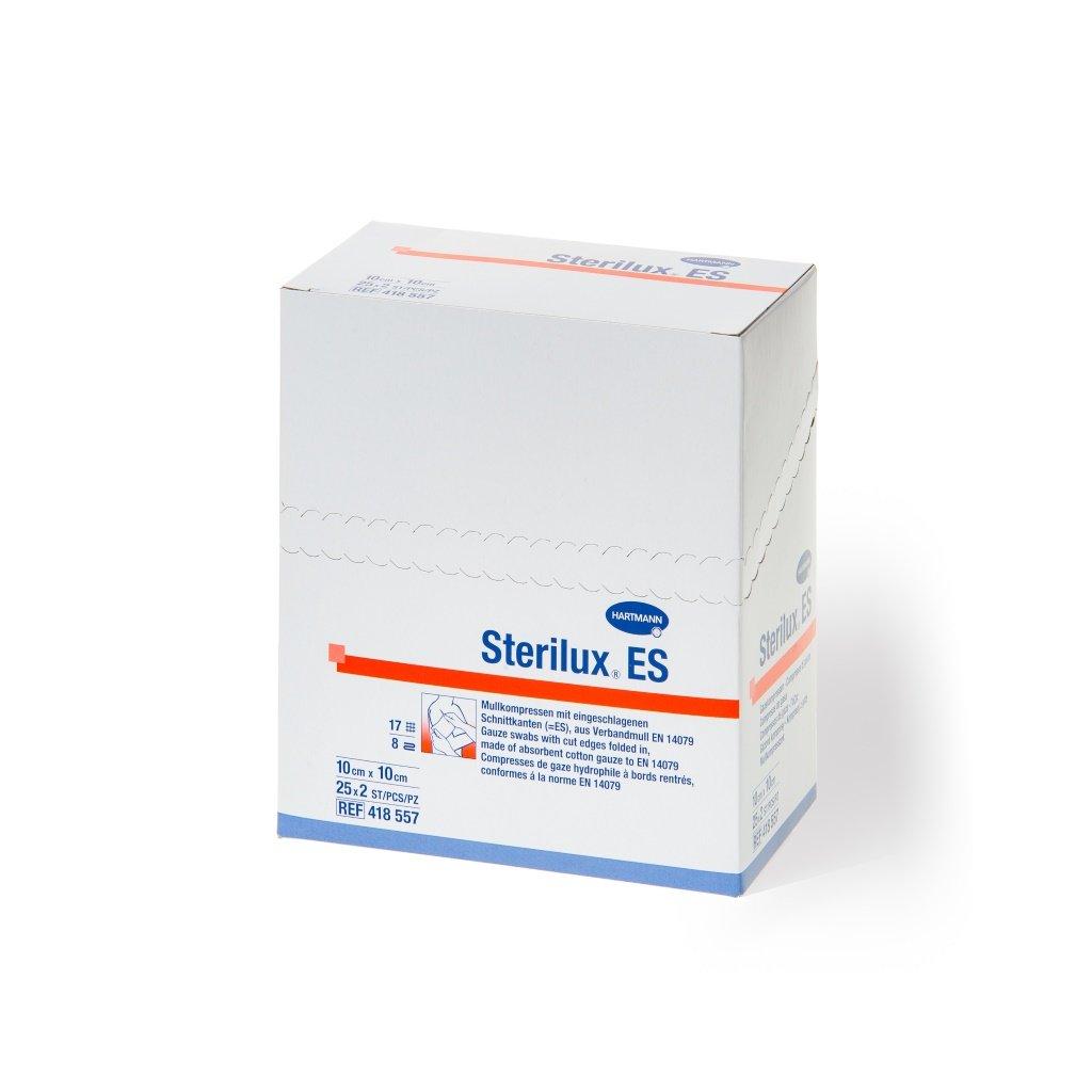 Hartmann Sterilux ES, sterilní, 10 x 10 cm, 17/8 , 25 x 2 ks