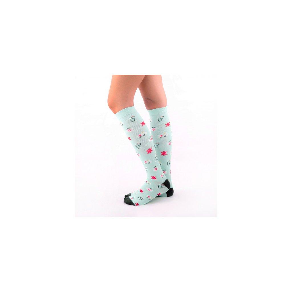 compresive printed socks ambulances
