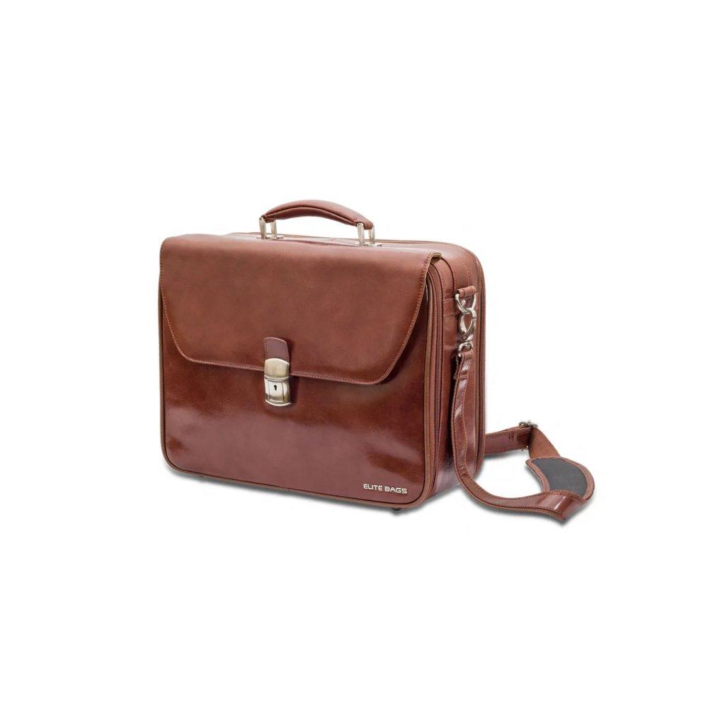 Elite Bags DOCTOR'S kožená taška