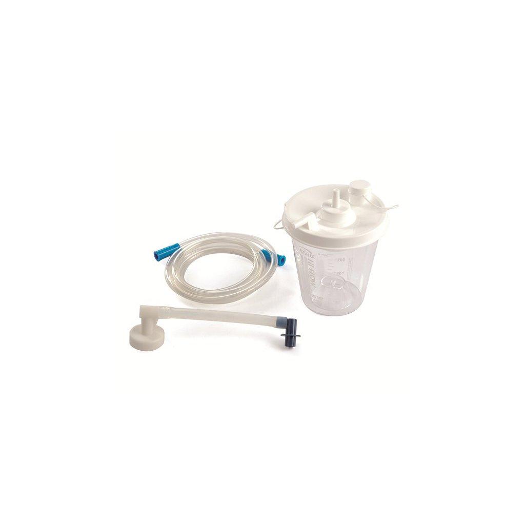 Laerdal sběrná nádoba s hadičkami pro LCSU4, 800 ml