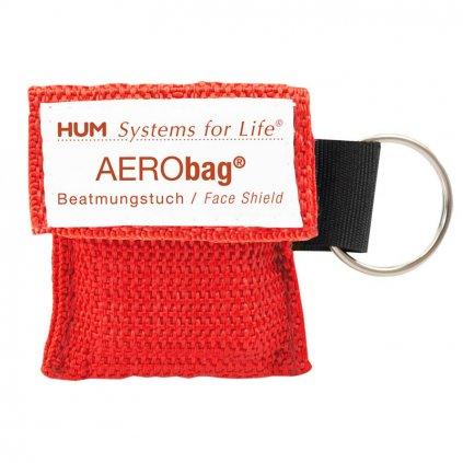 HUM AERObag klíčenka resuscitační rouška