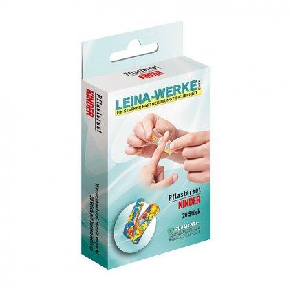 Leina Werke náplasti dětské, 20 ks