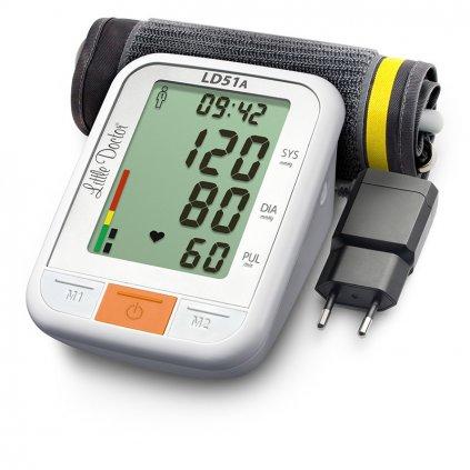 Little Doctor LD51A digitální tlakoměr se zdrojem