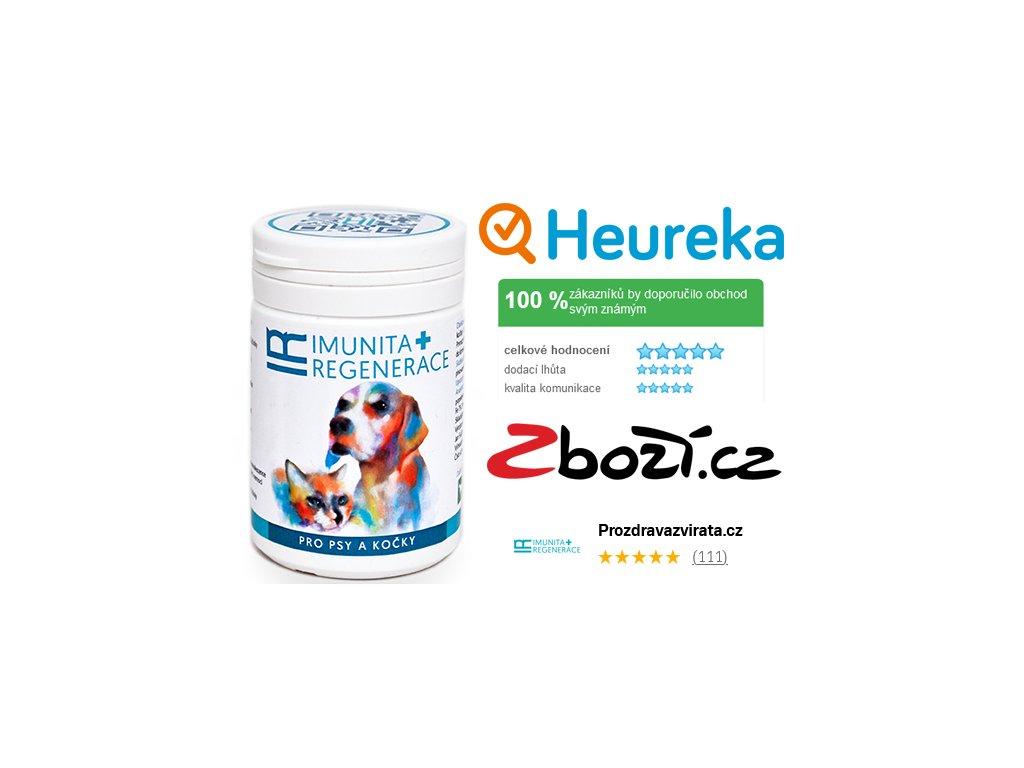 IR (imunita a regenerace) pro psy