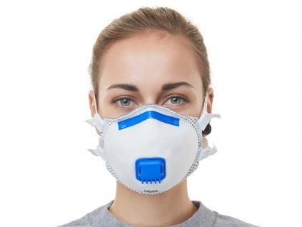 Respirátor FFP3 NR s ventilem Prémiový (30ks)
